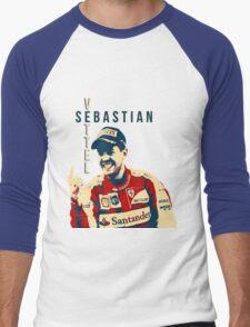 Sebastian Vettel - Ferrari Men's Baseball ¾ T-Shirt