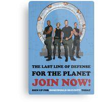 Stargate - Homeworld Security Metal Print