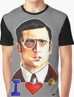 I Love Lamp: Brick Tamland's Awesome Quote From The Movie Anchorman; Hand-Drawn Illustration  Graphic T-Shirt