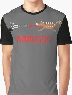 Barugon Pixel Graphic T-Shirt