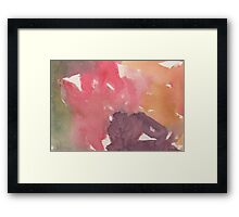 Candy-Coated Framed Print