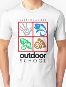 Outdoor School Logo (fcb) Unisex T-Shirt