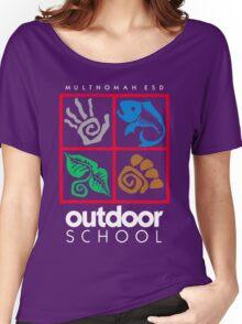 Outdoor School Logo (fcw) Women's Relaxed Fit T-Shirt