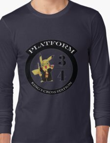 Pikachu potter Long Sleeve T-Shirt
