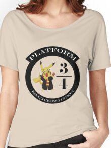 Pikachu potter Women's Relaxed Fit T-Shirt