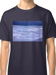 The lonely skier of Parnassus mountain Classic T-Shirt