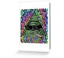 Mlg Illuminati Greeting Card