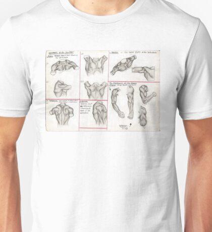 Human Anatomy 3 Unisex T-Shirt