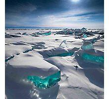 TURQUOISE ICE Photographic Print
