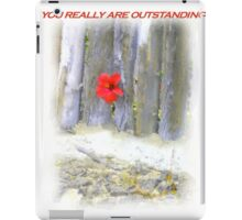 Congratulations You're Outstanding iPad Case/Skin