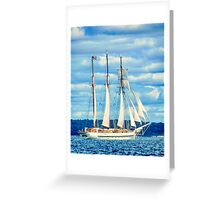 The Mystic Departing Greeting Card