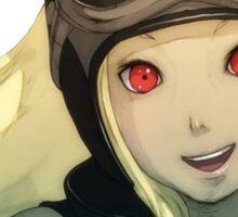 Gravity Rush - Kat Smile Spy Portrait Sticker
