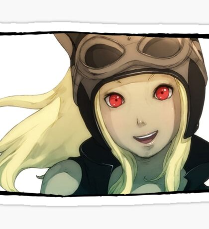 Gravity Rush - Kat Smile Spy Portrait Sticker