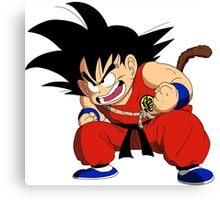 Son Goku Child Canvas Print