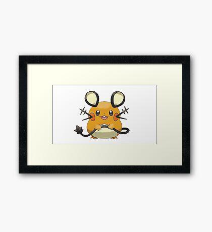 Pokemon Mice Framed Print