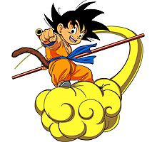 Son Goku Photographic Print