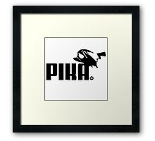 Pokemon Puma Crossover Framed Print