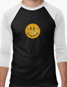 Acid Smiley Grunge Men's Baseball ¾ T-Shirt