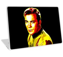 Retro James T Kirk Laptop Skin
