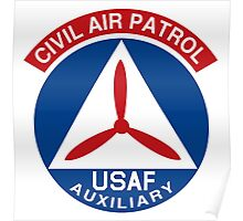 Civil Air Patrol Emblem Poster