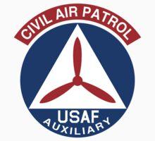 Civil Air Patrol Emblem One Piece - Short Sleeve