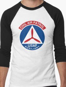 Civil Air Patrol Emblem Men's Baseball ¾ T-Shirt