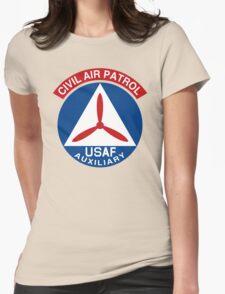 Civil Air Patrol Emblem Womens Fitted T-Shirt