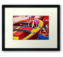 Classic Display Framed Print