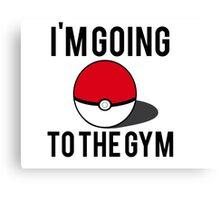 Pokemon Going to the Gym Canvas Print