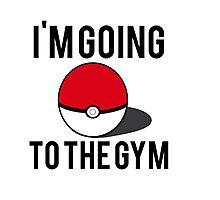 Pokemon Going to the Gym Photographic Print