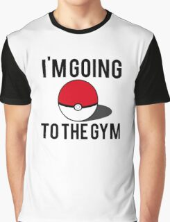 Pokemon Going to the Gym Graphic T-Shirt