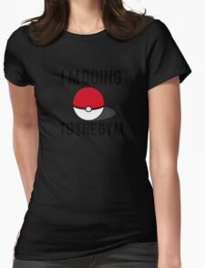 Pokemon Going to the Gym Womens Fitted T-Shirt