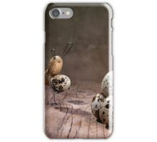 Simple Things - Easter Bunnies iPhone Case/Skin