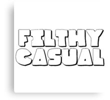 Filthy Casual - ONE:Print Canvas Print