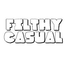 Filthy Casual - ONE:Print Photographic Print