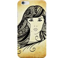 HaiR WomAn iPhone Case/Skin