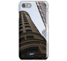 Manhattan Skyscraper Canyons - Architectural Diversity in the Financial District iPhone Case/Skin