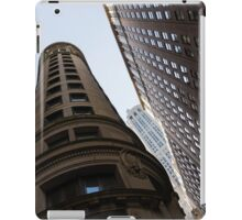 Manhattan Skyscraper Canyons - Architectural Diversity in the Financial District iPad Case/Skin