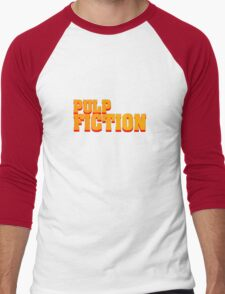 Pulp fiction title Men's Baseball ¾ T-Shirt