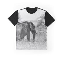 """""""Pass by of a old Giant"""" (B&W) Graphic T-Shirt"""