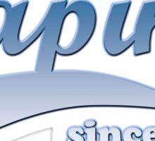 Vape Design Swoosh Vaping Since 2014 Sticker