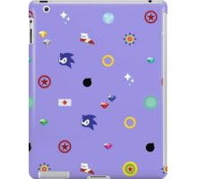 Sonic Items iPad Case/Skin