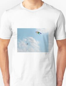 Two Kites in Sky Unisex T-Shirt