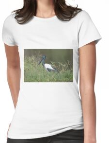 On The Pond  Womens Fitted T-Shirt
