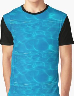 Water in Swimming Pool Graphic T-Shirt