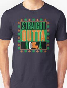 Straight Outta NOLA (Irish Version) T-Shirt