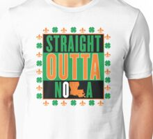 Straight Outta NOLA (Irish Version) Unisex T-Shirt