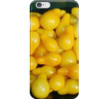 Yellow Tomatoes in Sunlight iPhone Case/Skin