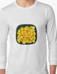 Yellow Tomatoes in Sunlight Long Sleeve T-Shirt