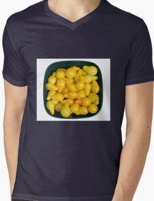 Yellow Tomatoes in Sunlight Mens V-Neck T-Shirt